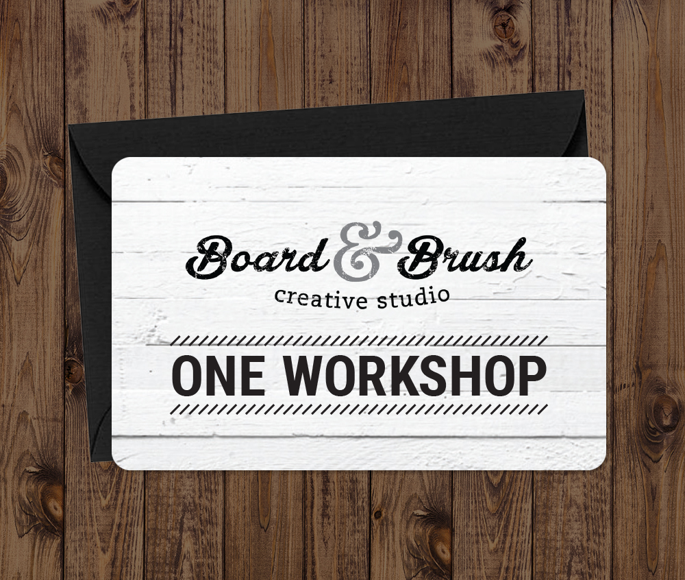 Board and Brush Gift Card